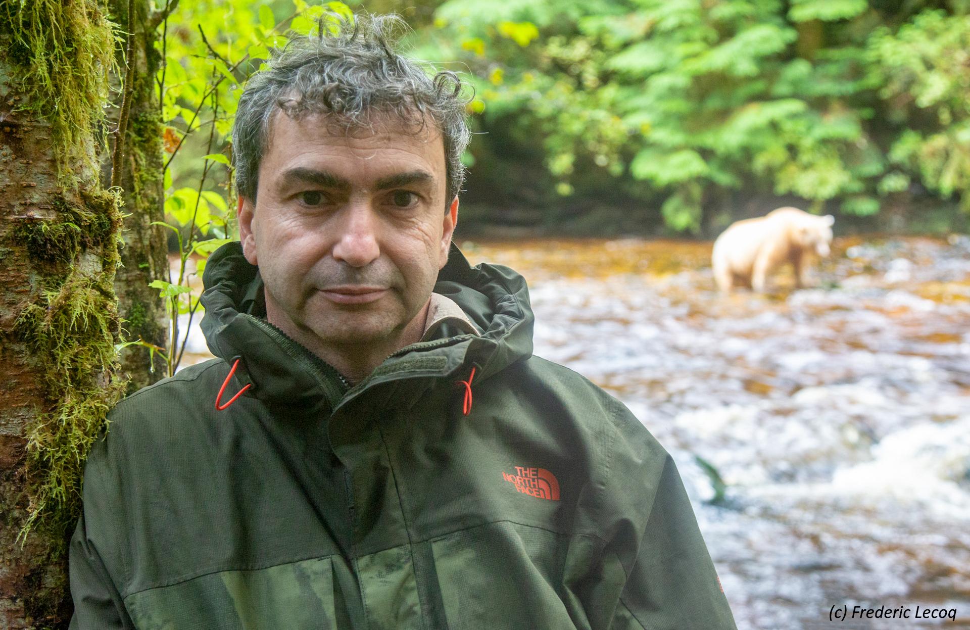 Reiseleiter Frederic Lecoq